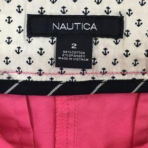 Nautica Shorts - Nautical | Bright Pink Chino Shorts with Tag